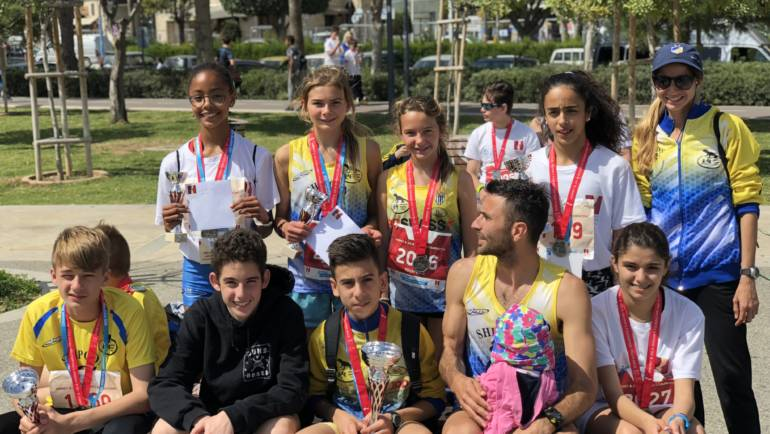 Limassol Marathon 2018 – 10 Podium Finishes for the Lizards