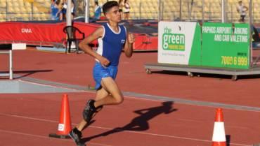 Lizards at U16 Cyprus Nationals, 23-24 June at Tsirio Stadium, Limassol
