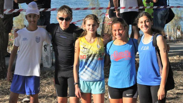 Lizards win at Limassol Aquathlon and Mens-Womens Nationals 2018