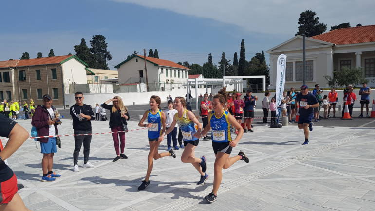 Lizards Superb Performance at Paphos Race April 2019