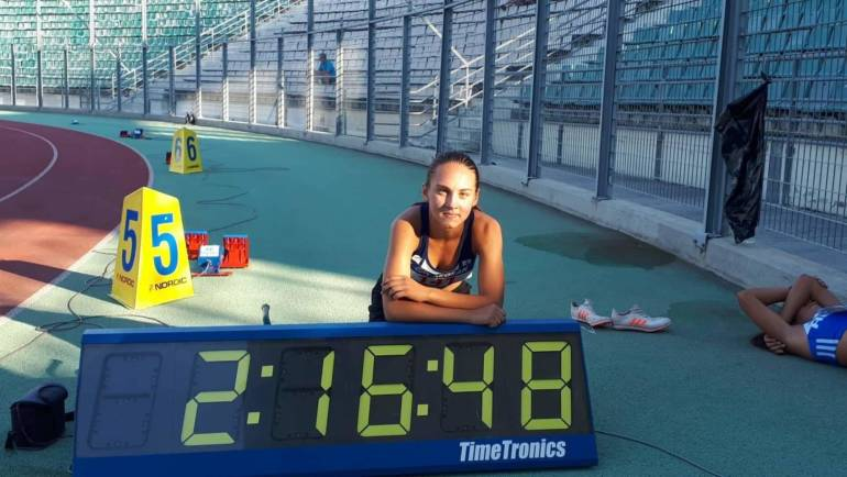 Lizards' Anna Makkoutide wins 1st Place in U18s in Greece