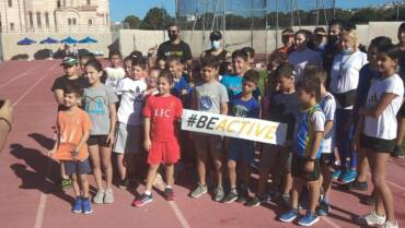 #BeActive Event at Tsirio Stadium